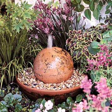 How To Make A Spherical Water Feature